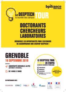 Evénement DeepTech Tour 2019