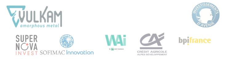 logos des investisseurs
