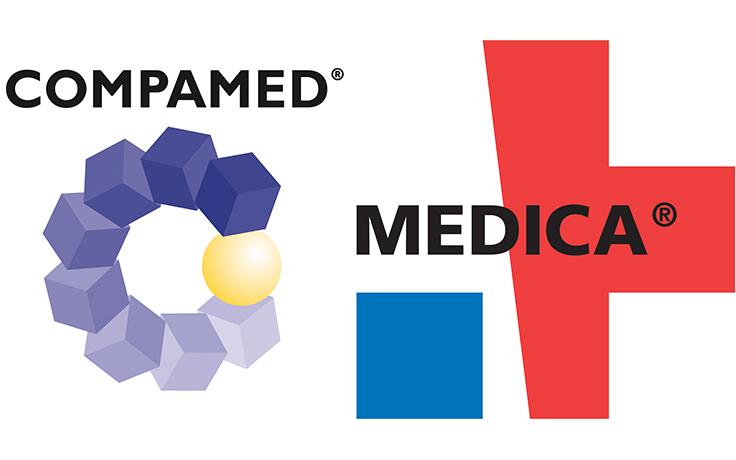 logo salon Medica compamed